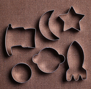 Outer Space Cookie Cutters Set | www.bakerspartyshop.com