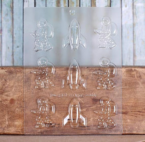 Astronaut Candy Mold | www.bakerspartyshop.com