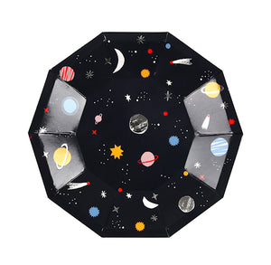 Small Outer Space Plates | www.bakerspartyshop.com