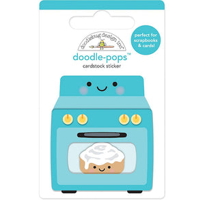 Doodle-Pops Baking A Cake Stickers | www.bakerspartyshop.com