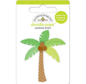 Doodle-Pops Palm Tree Sticker | www.bakerspartyshop.com