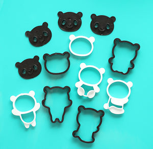 Panda Bear Cookie Cutter Set | www.bakerspartyshop.com