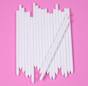 Paper Candy Apple Sticks: 5.5"