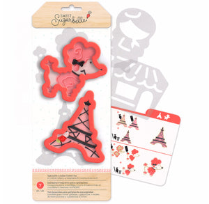 Sweet Sugarbelle Paris Cookie Cutters | www.bakerspartyshop.com