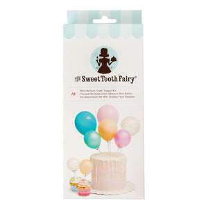 Sweet Tooth Fairy Mini Balloon Cake Topper Kit: Pastel | www.bakerspartyshop.com