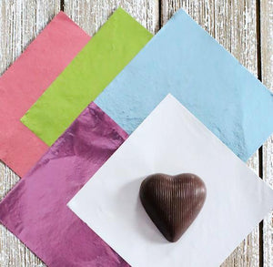 Pastel Foil Candy Wrappers | www.bakerspartyshop.com