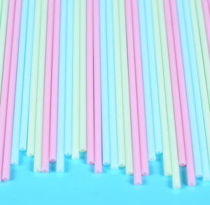 Pastel Cake Pop Sticks: 6"