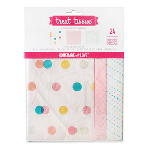 Pastel Treat Tissue Paper | www.bakerspartyshop.com