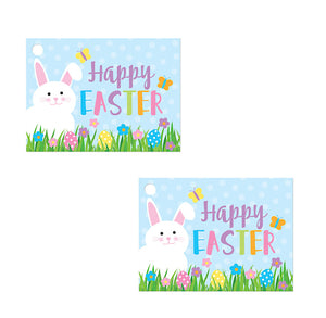 Happy Easter Gift Tag Cards: Garden | www.bakerspartyshop.com