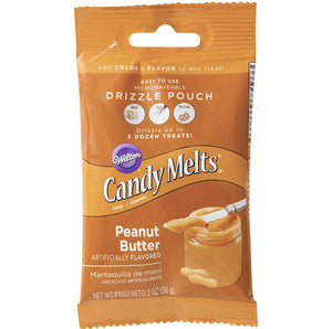Mini Peanut Butter Candy Melts | www.bakerspartyshop.com