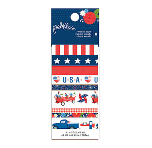 Patriotic Washi Tape Set | www.bakerspartyshop.com