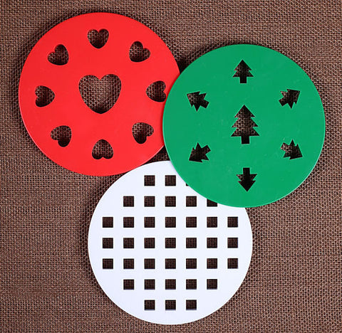 "5"" Pie Crust Cutter Set 