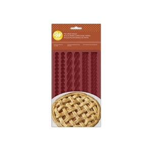 Silicone Lattice Pie Crust Mold | www.bakerspartyshop.com