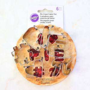Pie Crust Cutters Set | www.bakerspartyshop.com