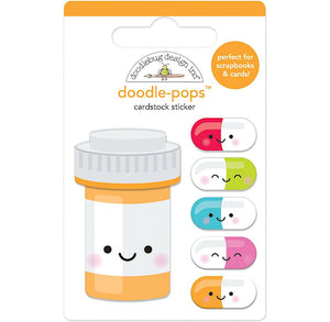 Doodle-Pops Pill Better Stickers | www.bakerspartyshop.com