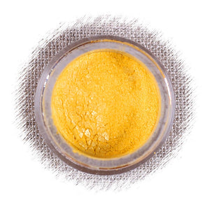 Pineapple Yellow Luster Dust | www.bakerspartyshop.com