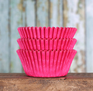Pink Cupcake Liners: Solid | www.bakerspartyshop.com