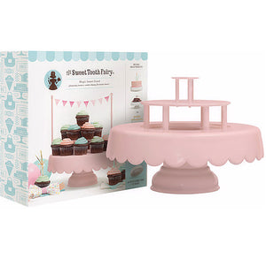 Sweet Tooth Fairy Cake Stand: Pink | www.bakerspartyshop.com