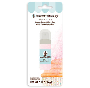 Sweet Tooth Fairy Edible Pink Glitter Dust | www.bakerspartyshop.com