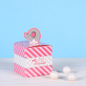 Small Favor Boxes: Pink Elephant | www.bakerspartyshop.com