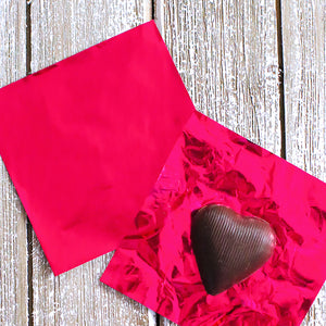 Hot Pink Foil Candy Wrapper | www.bakerspartyshop.com