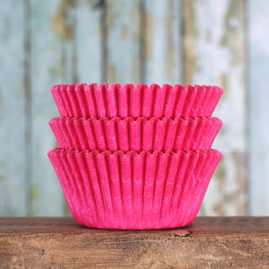 Bulk Pink Cupcake Liners: Solid | www.bakerspartyshop.com