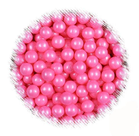 Pink Sugar Pearls: 7mm | www.bakerspartyshop.com