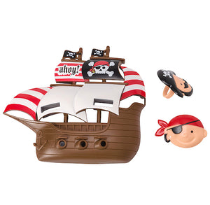 Pirate Ship Cake Topper | www.bakerspartyshop.com