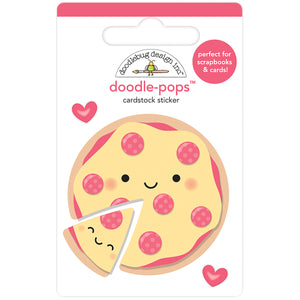Large Pizza Sticker | www.bakerspartyshop.com