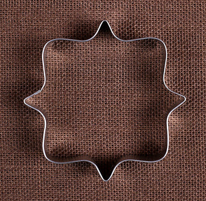 Plaque Square Cookie Cutter | www.bakerspartyshop.com