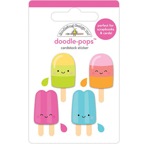 Doodle-Pops Popsicle Stickers | www.bakerspartyshop.com