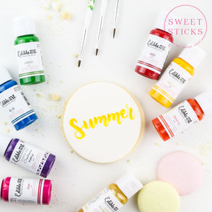 Primary Edible Art Paint Set: BEING REVAMPED | www.bakerspartyshop.com