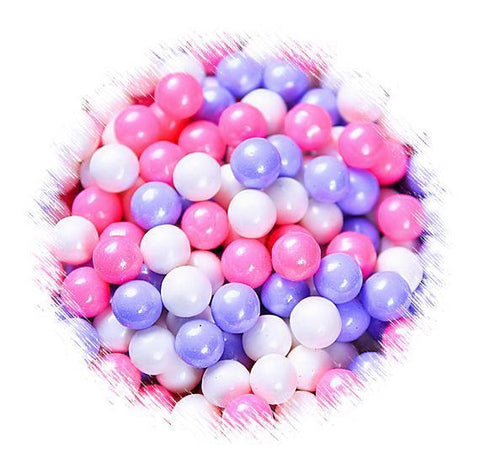 Princess Party Sugar Pearls: 7mm | www.bakerspartyshop.com