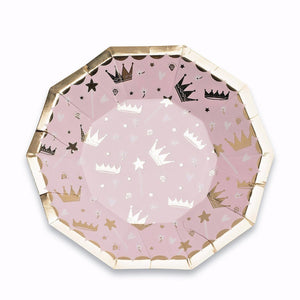 Small Princess Plates | www.bakerspartyshop.com