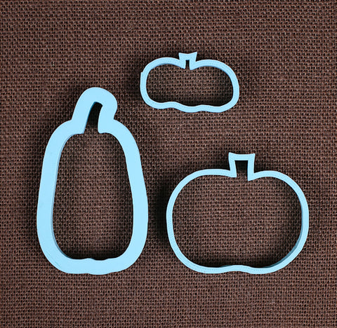 Designer Pumpkin Cookie Cutter Set | www.bakerspartyshop.com