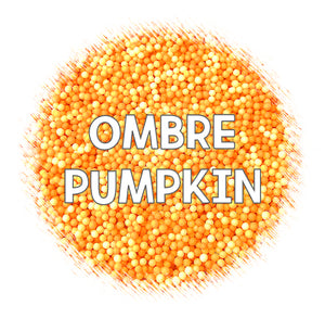 Ombré Nonpareils Mix: Pumpkin