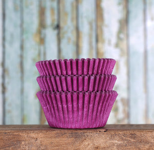Bulk Purple Cupcake Liners: Solid | www.bakerspartyshop.com