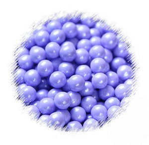 Purple Sugar Pearls: 7mm | www.bakerspartyshop.com