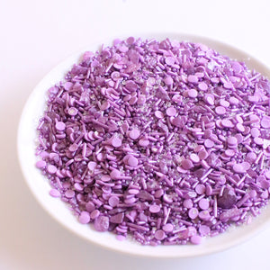 Sprinklefetti Sparkle Purple Sprinkle Mix | www.bakerspartyshop.com