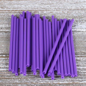 Purple Lollipop Sticks: 4.5"