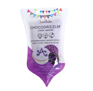 Chocodrizzler Mini Candy Wafers Pouch: Purple | www.bakerspartyshop.com