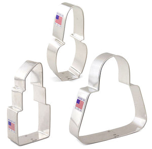 Purse Cookie Cutter Set | www.bakerspartyshop.com