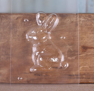 Easter Rabbit Chocolate Mold | www.bakerspartyshop.com