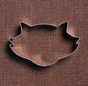 Raccoon Face Cookie Cutter | www.bakerspartyshop.com