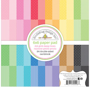Mixed Prints Rainbow Paper Pad | www.bakerspartyshop.com