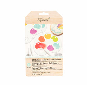 Sweet Sugarbelle Edible Paint Palettes: Rainbow