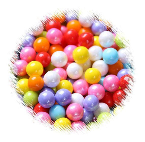 Rainbow Sugar Pearls: 7mm | www.bakerspartyshop.com