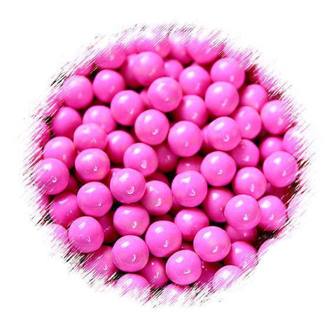 Raspberry Pink Sugar Pearls: 7mm | www.bakerspartyshop.com