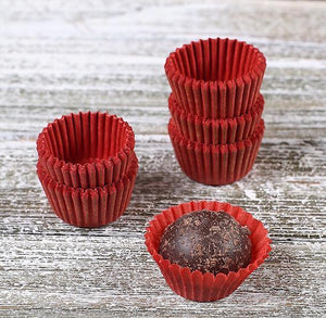 Mini Red Candy Cups | www.bakerspartyshop.com