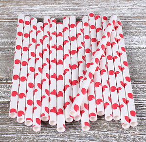 Red Cake Pop Sticks: Hearts | www.bakerspartyshop.com